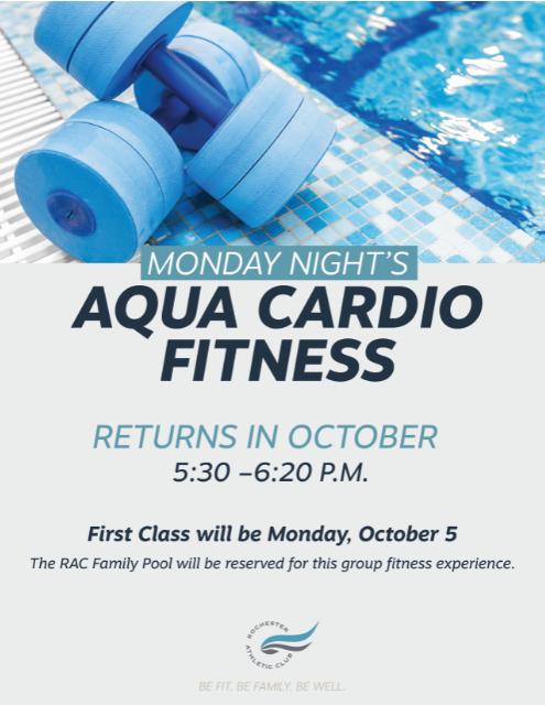 Group Fitness - Aqua Cardio Fitness Class