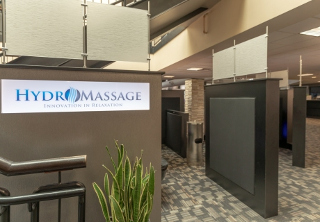 Hydromassage-Lounge-Area