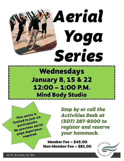 Aerial Yoga January 2020 Photo
