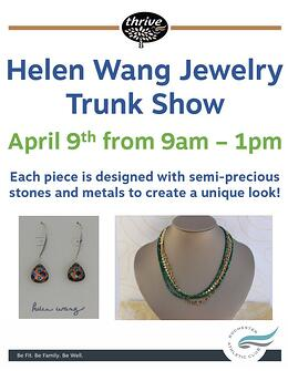 Helen Wang Trunk Show April 9th