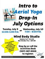 Intro to Aerial Yoga July 2019