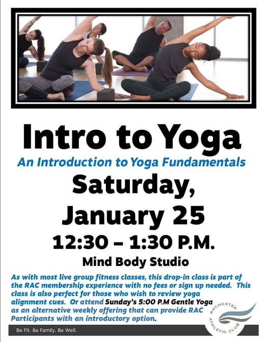 Intro to Yoga January 2020 Photo