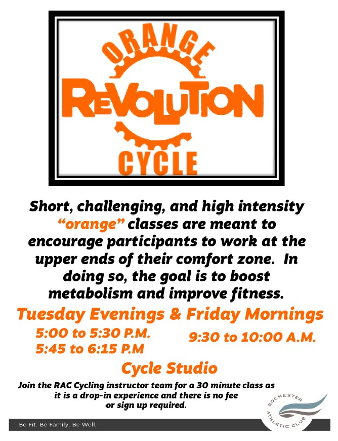 Orange Revolution Cycle Photo