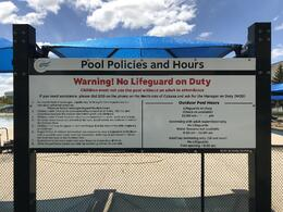 Pool Policies and Hours Photo