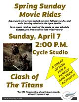Spring Sunday Movie Rides April 7th