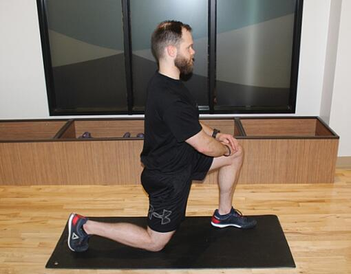 Kneeling Lunge Stretch