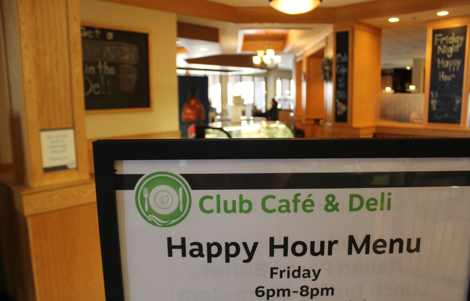 Deli Happy Hour