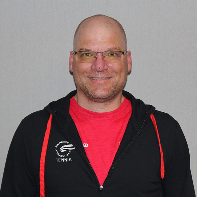 Greg Leibfried - Racquetball & Squash