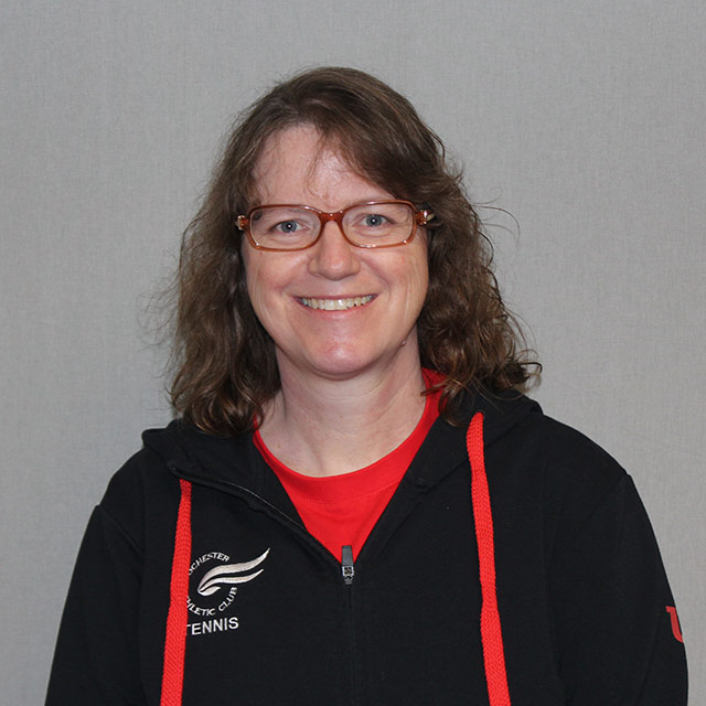 Sabine Tetzloff - Racquet Sports Coordinator, Tennis, Pickleball